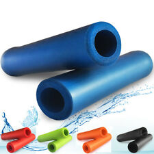 MTB Mountain Bike Bicycle Silicone Sponge Cycling HandleBar Grips Cover 1 Pair
