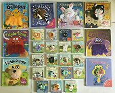 Puppet books collection Incy wincy spider, bear, penguin, hug, tickel babies New