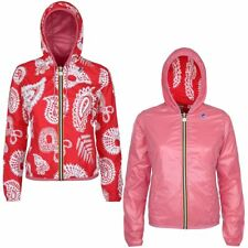 K-WAY LILY PLUS DOUBLE GRAPHIC giacca DONNA CAPPUCCIO PRV/EST new KWAY 901zhazvy