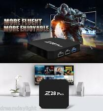 Z28 PRO SMART 4K HD TV Boîte Cortex-A53 Quad Core Android 7.1 2GB+16GB 5G Wi-Fi