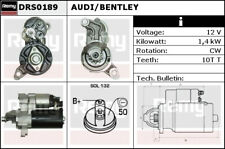 AUDI A4 8K 3.2 Starter Motor 2007 on CALA Remy Genuine Top Quality Replacement