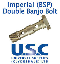 BSP Imperial Double Banjo Bolt Brake Line Systems Performance UNF JIC Motorcycle