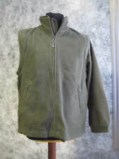 GIACCA IN PILE - MANICA STACCABILE - ZIP LUNGA- FOLLOW ME - VERDE MILITARE