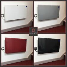1000W, 1500W, 2000W Electric Panel Heaters, Digital Thermostat & Timer 4 Colours