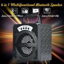 Super Bass Portatile Esterno senza Fili USB / Tf /Aux / Fm Speaker Bluetooth UK