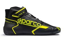 SCARPE SPARCO RACING NEW FORMULA RB-8.1 NERO-GIALLO FLUO (NO SFI) 001251