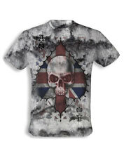 ALCHEMY ENGLAND APPAREL - ACE OF ENGLAND SKULL T-SHIRT