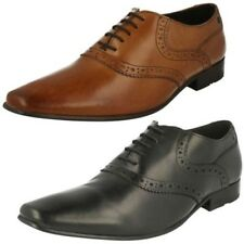 Hombre Base London de Vestir Con Cordones Punta Redonda Zapatos Oxford Harry