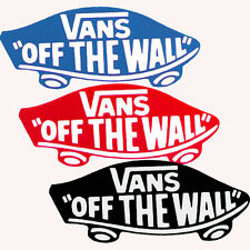 VANS OFF THE WALL - autocollant - Skateboard Snowboard Bmx Surf -