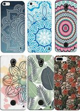 TPU Gel Silicona Carcasa Funda Apple iPhone 5 5S 6 6S Plus 7 8 X MANDALA RELAX