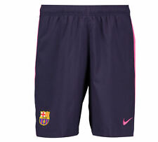 Nike 2016/2017 Barcelona FC Junior Boys Kids Away Football Kit Shorts - Purple