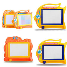 Kids Drawing Board Magnetic Writing Sketch Pad Erasable Magna Doodle Games Gift
