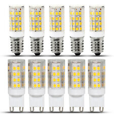 Lot G9 5W SMD LED Ampoule Maïs Lampe Capsule Blanc Chaud Froid Replacer Halogène