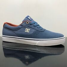 DC SHOES SWITCH S VINTAGE INDIGO BLUE SKATE TRAINERS