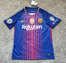 2018 FC Barcelona Messi Champions League Home Jersey size S/M/L/XL 2017 Adult