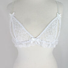 Ann Summers White Lace Peep Hole Bra Sexy Adult Play Gift Present Idea