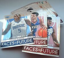 """Panini NBA Trading Cards 2014 2015  FACES of the FUTURE  auswählen """"to choose"""""""