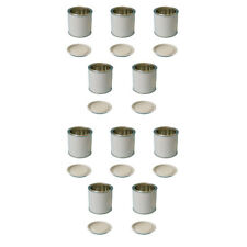 10 x 250 ML Tin Storage Solvent Based Paint Oil Coatings DIY Coatings Crafts
