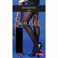 Silky Scarlet - Collants opaques (1 paire) - Femme (M-XL) LW226