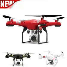 2.4G Altitude Hold HD Camera Quadcopter RC Drone 2MP WiFi FPV Helicopter Hover