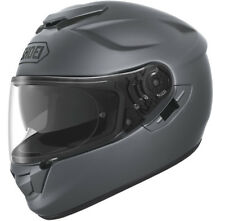 Shoei Gt Air MATE Oscuro Gris COMPLETO Carreras Casco de MOTO