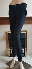 New Women's Black Super Skinny Black Jeans From MIM Collection Size:6-16