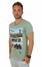 kultivate TS SEEK 366 OLIVA 1701020206 - Uomo - T-shirt - VERDE + NUOVO + .