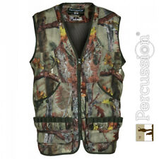 Percussion Palombe Ghost Camo Forest Hunting Vest / Gilet Camouflage Shooting