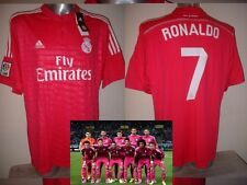 Real Madrid Adidas Ronaldo Bale James BNWT XL Soccer Shirt Jersey New Top Pink