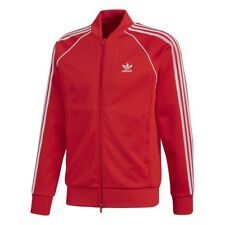 Adidas TRACK JACKET DONNA SST TT RED CE2393 Rosso mod. CE2393