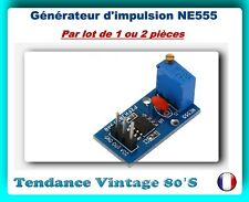*** LOT DE 1 OU 2 MODULES GENERATEUR D'IMPULSION NE555 / ARDUINO ***