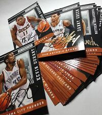 """Panini NBA Trading Cards 2014 2015 HOT SIGNATURES Cards  """"AUSWAHL""""  to choose !!"""