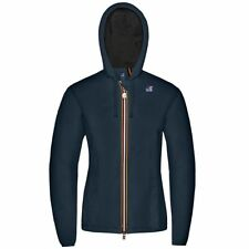 K-WAY LILY NYLON JERSEY CAPPUCCIO KWAY Impermeabile taschino giacca DONNA K89sir