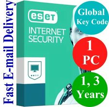 ESET Internet Security 1 PC (Unique Global Key Code) 2018