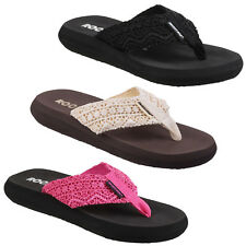 Rocket Dog Spotlight Flip Flops Slip On Beach Ladies Fashion Shoes Womens