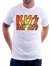 t-shirt humor Kiss my ass - To give happiness by tshirteria f146