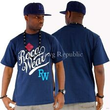 """Rocawear """" Wesley """" T-SHIRT UOMINI RAGAZZI Time Is Hip Hop SOLDI JAY Z stile"""