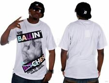 "Rocawear "" We Ballin "" T-SHIRT UOMINI RAGAZZI Time Is Hip Hop Money URBAN STILE"