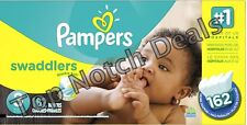 GENUINE Pampers Swaddlers Diapers SEALED BOX - ALL SIZES - FREE SHIPPING FROM US