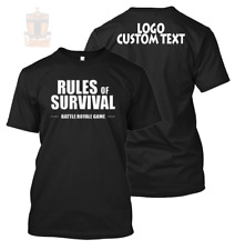 New Rules Of Survival 2018 Custom with Text Perzonalized Tee/TShirt/Shirt/Player