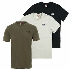 The North Face Uomo T-Shirt SEMPLICE cupola TEE TOP S M L XL XXL NUOVO