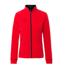 Izas - Wheeler giacca in pile rosso Donna
