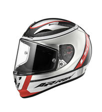 LS2 Helmets - Casco integrale Arrow C Evo FF323 Indy Carbon Chrome Pinlock Ma...