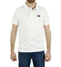 Tommy Hilfiger - Polo di base Big White Flag Uomo