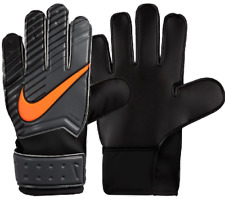 Nike GK Junior Match Goalie Gloves Goal Keeper Goalkeeper Gloves Grey blk Orange