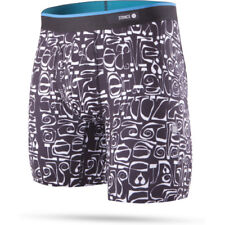 Stance The Boxer Brief Poly Blend Mens Underwear Shorts - Phil Frost Black