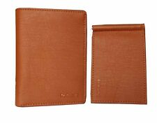 Combo Money Clip with High Quality Vertical Design PU Leather Wallet Card Slots