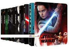 STAR WARS STEELBOOK COLLECTION (14 BLU-RAY) EDIZIONI STEELBOOK LIMITATE