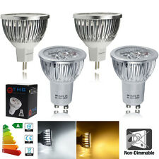 4/10X GU10 MR16 6W Warm White Day White LED Bulb Light Lamp Spotlight High Power