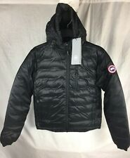 NEW CANADA GOOSE LODGE HOODY DOWN JACKET BLACK S-XL DOWN AUTHENTIC FREE SHIP